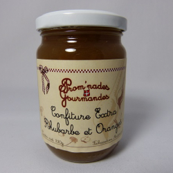 Confiture rhubarbe et orange